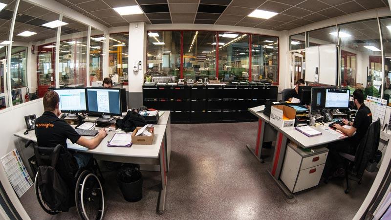 vue d'ensemble de notre bureau d'études