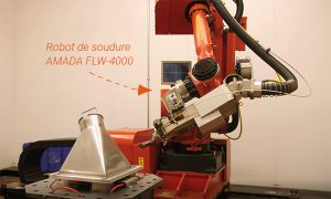 Investment in fiber laser welding robot